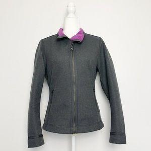 ANKY Technical Casuals Grey Softshell Fleece Lined Jacket 8 Medium